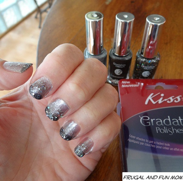 nail art kiss gradation