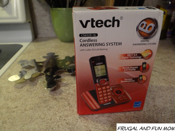 vtech Cordless Answering System Red Phone