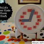 DIY Child's Paper Plate Clock! An Easy Craft That Teaches Time!