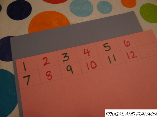 Clock Craft Made With Paper Plate Numbers
