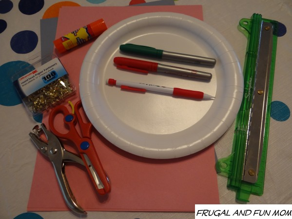 Clock Craft Made With Paper Plate