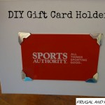 DIY Gift Card Holder! An Easy Fix To Dress Up A Loose Present!