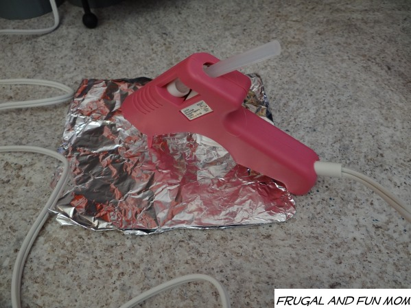 Hot Glue gun for EASY DIY Football Party Centerpiece