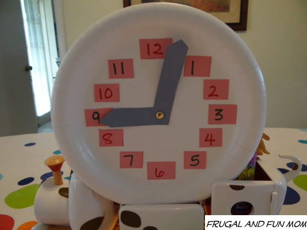 Kids Clock Craft with Tickety Toc