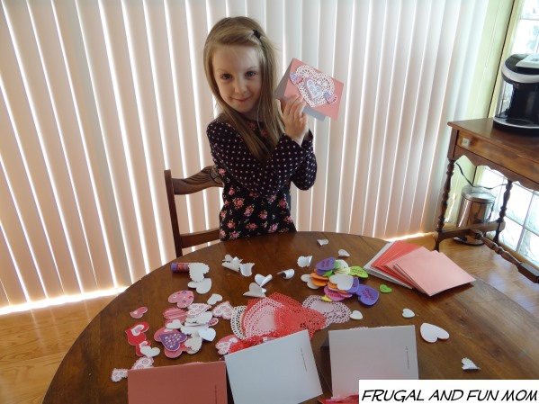 Making Homemade Valentine's Day Cards with Crafts from Oriental Trading