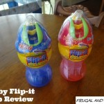 Nuby No Spill Flip-it Sippy Cup Review!  A Product That Avoids Dirt and Mess!