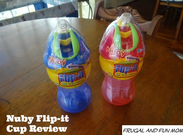 Nuby Flip It Sippy Cup Review