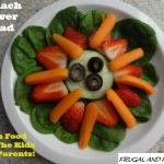 Spinach Salad Flower! A Creative Way to Get The Kids To Eat Vegetables!