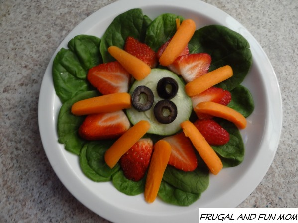 Spinach Flower Salad