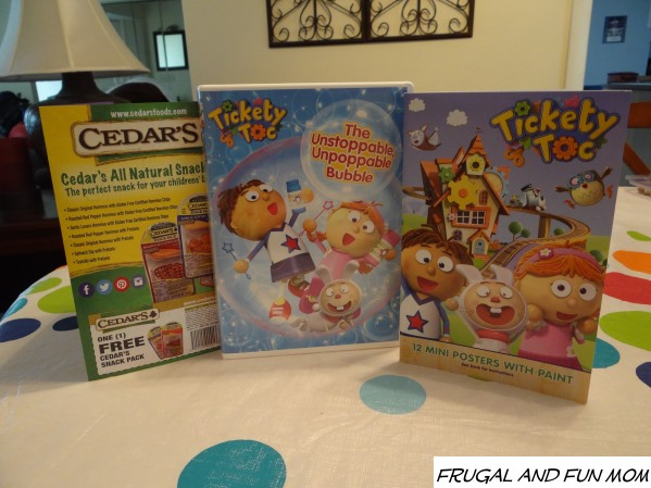 "Tickety Toc ""The Unstoppable, Unpoppable Bubble"" DVD Tea Party and Giveaway!"