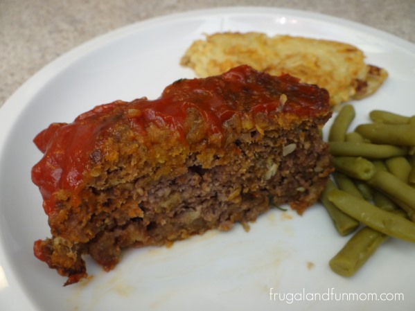Applesauce and Stuffing Meatloaf Recipe