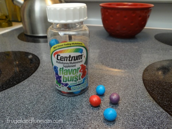 Centrum Flavor Bursts Adult Chews Vitamins Review and Giveaway! Print a $2.00 off Coupon!
