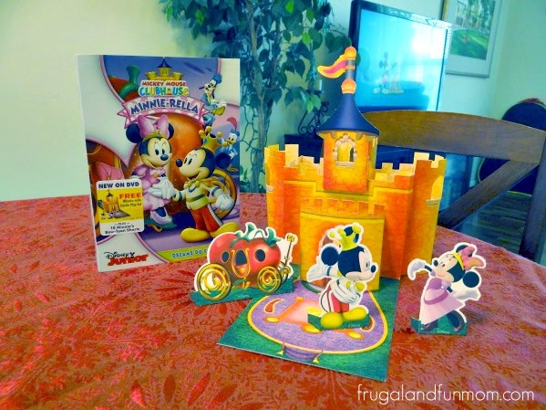 Mickey Mouse Clubhouse Minnierella Pop Up Castle Playset