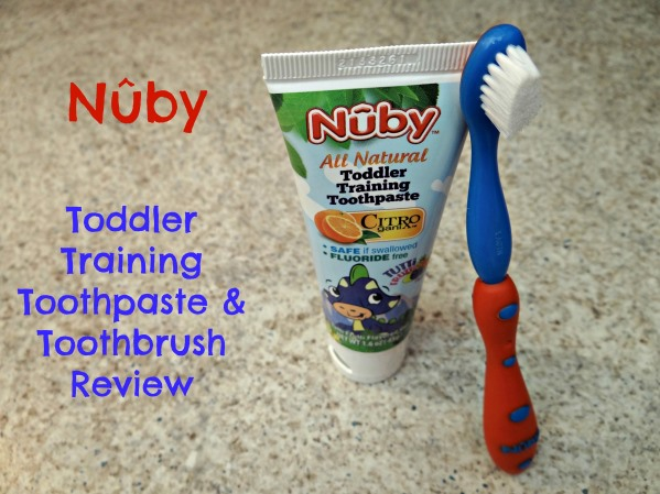 Nuby Toddler Training Toothpaste & Toothbrush