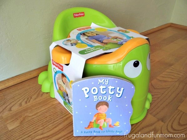 Potty Chair and Potty Book