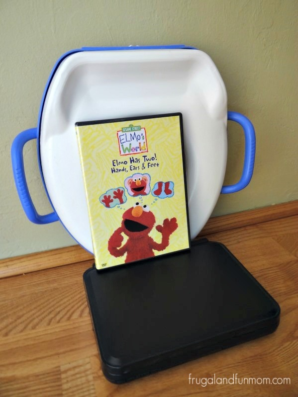 Potty Seat and Elmo and DVD Player