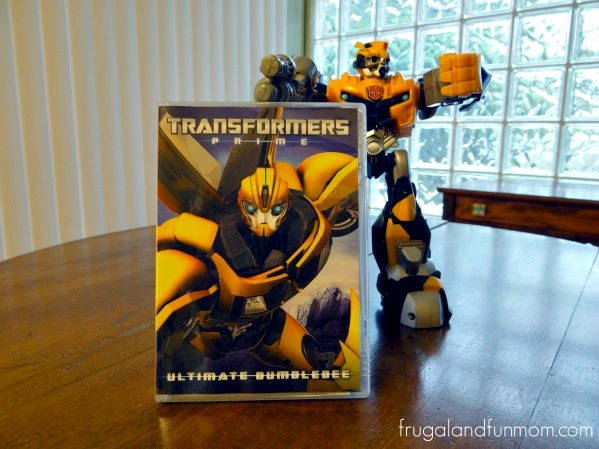 Transformers Prime Ultimate Bumblebee on DVD