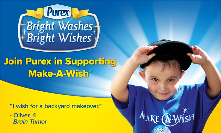 make-a-wish-and-purex-banner