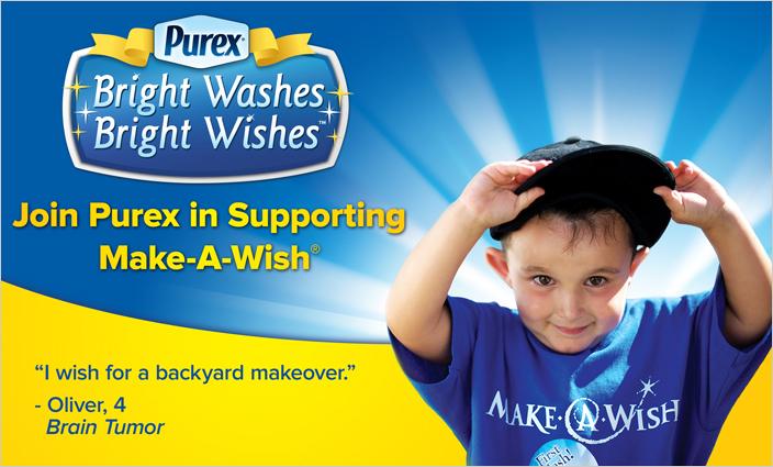make-a-wish-and-purex-banner