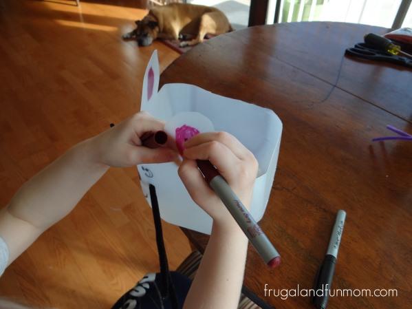 Milk Jug Easter Bunny Craft!