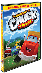The Adventures of Chuck & Friends: Trucks Versus Wild DVD! Episodes Include Life Lessons!