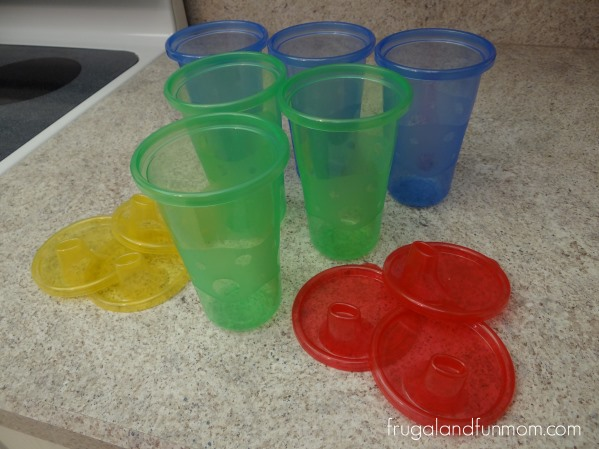 Nuby Wash or Toss Cups