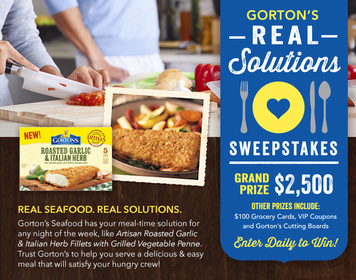 Gortons RealSolutions Sweeps