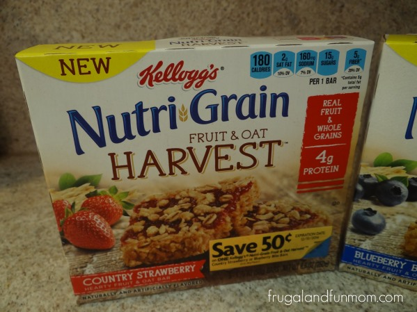 Nutri-Grain Fruit and Oat Harvest Strawberry
