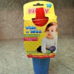 Review and Giveaway of Nuby Wash or Toss! Cups That All Of My Kids Can Use!