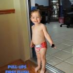 "Potty Training With Pull-Ups ""Big Boy Pants"" #CelebrateFirstFlush and the FREE Big Kid App!"