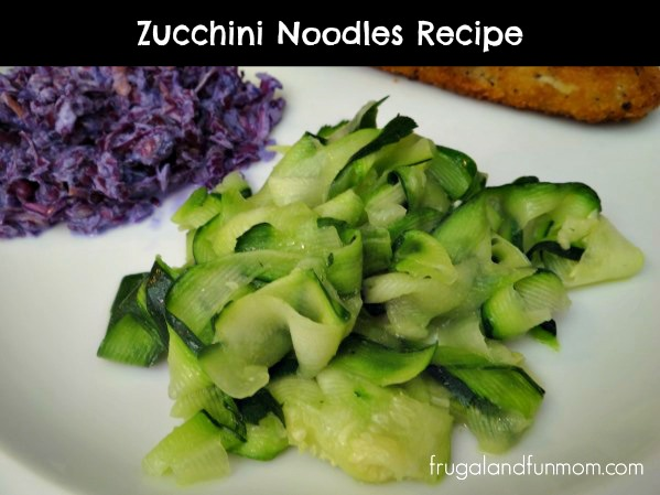Zucchini noodles recipe a flavorful dish that my kids will eat
