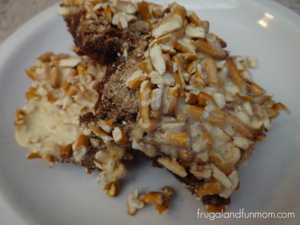 Pretzel Brownie Recipe