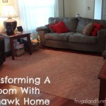 Transforming A Room With Mohawk Home! #ilovemymohawkrug Plus, Giveaway for a $150 Value Rug!