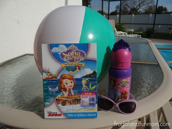 """Sofia The First """"The Floating Palace"""" DVD"""