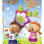 """""""Spring Chicks Time"""" With FREE Printable Coloring Sheet!  Enter A Tickety Toc DVD Giveaway!"""