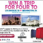Enter To Win A Family Vacation and Travel With Atlantic Luggage! #AtlanticLuggage