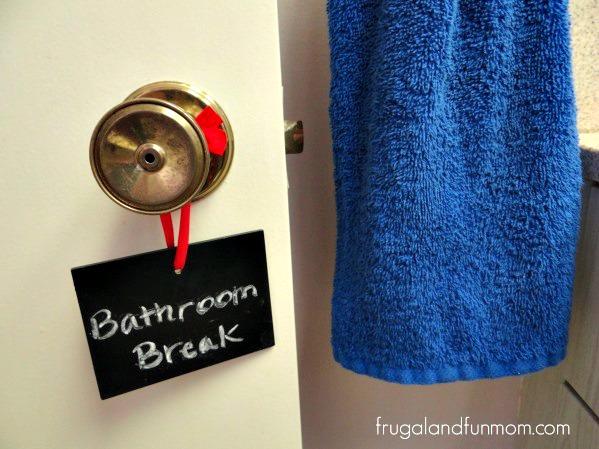 Bathroom Break with Cottonelle
