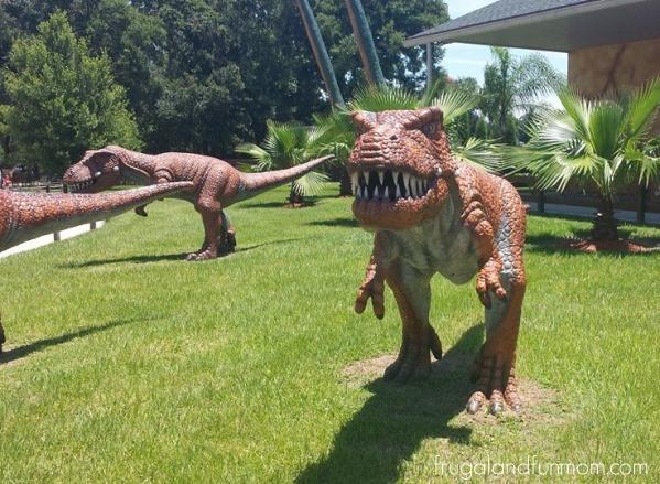 Dinosaur World Statue