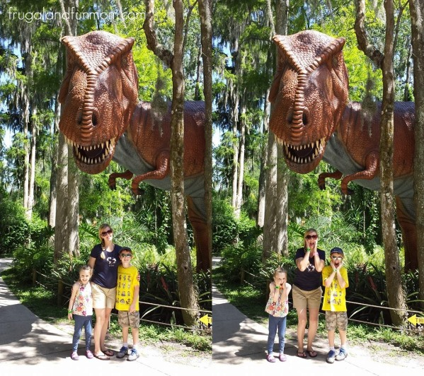 Dinosaur World TRex