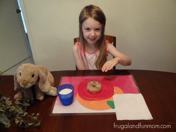 Entenmanns Donuts being eaten