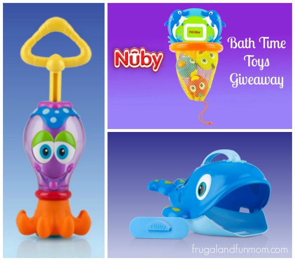 Nuby Bath Time Toys Giveaway