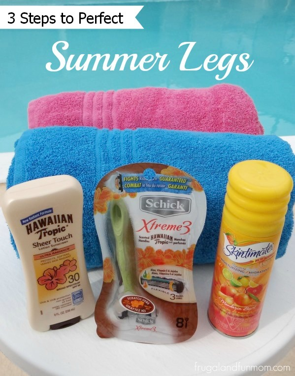 3 Steps To Perfect Summer Legs #SummerizeYourLegs #CollectiveBias