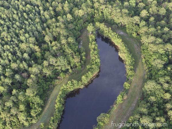 Aerial views from the Hot Air Ballon Ride