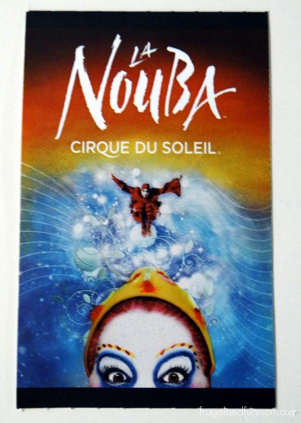 Cirque du Soleil La Nouba Downtown Disney Orlando Florida