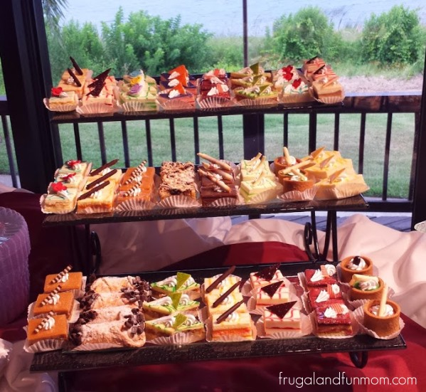 Desserts at Westgate Lakes Resort and Spa