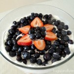 Easy Red White and Blue Dessert Trifle! Simple Patriotic Recipe!