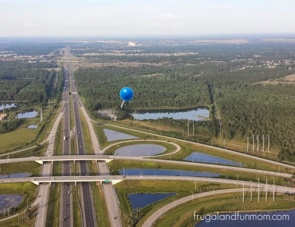 Hot Air Balloon Ride Orlando Mickey Mouse Ears