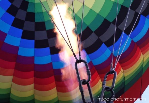 Hot Air Balloon Ride Orlando Setup 4