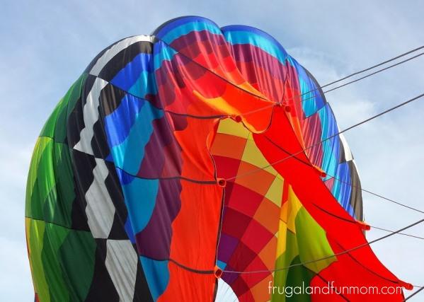 Hot Air Balloon Ride Orlando breaking down