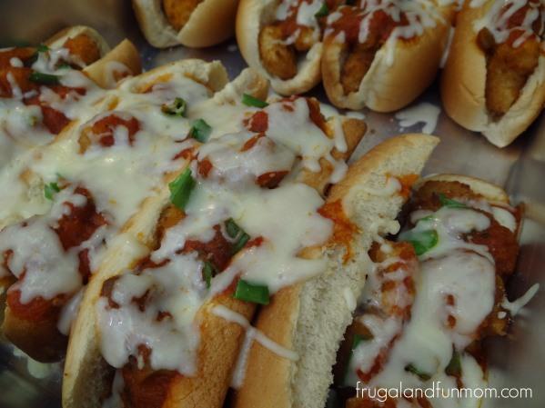 Italian Shrimp Po' Boy Sandwich